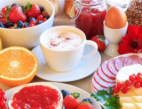 Exklusives Frühstücksbuffet
